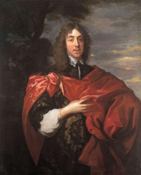 Portrait of George Stuart, Seigneur d'Aubigny (1618 - 1642), 1638 (oil on canvas)