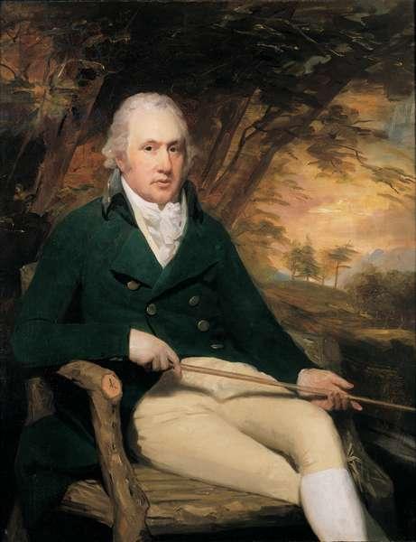 Portrait of John Cockburn Ross of Shanwick, Ross-shire, 1790 (oil on canvas)