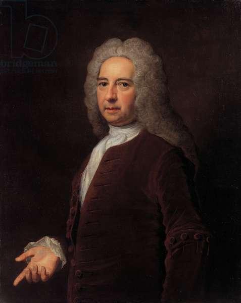 Portrait of a gentleman, 1732 (oil on canvas)