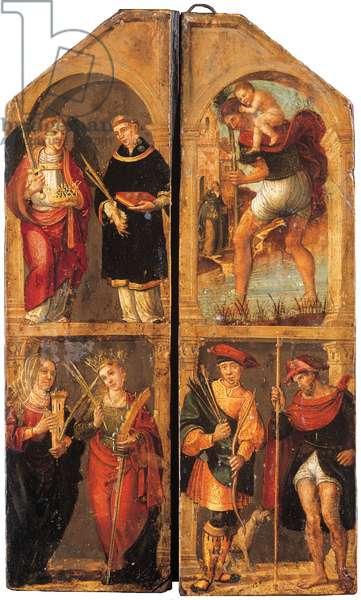 Triptych, c.1500