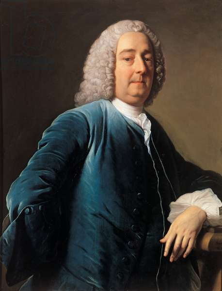 Portrait of Joseph Gulston, 1746 (oil on canvas)