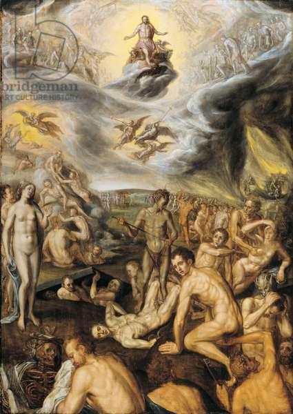 The last judgement, 1570 (oil on panel)