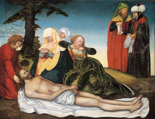 Lamentation over Dead Christ, 1520 (oil on panel)