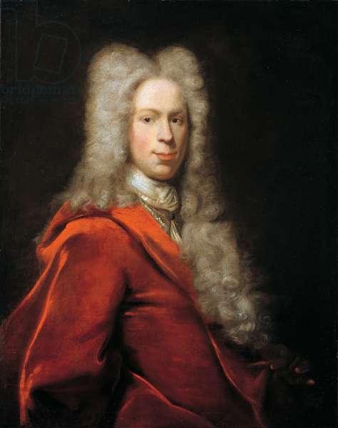 Portrait of a gentleman, 1723 (oil on canvas)