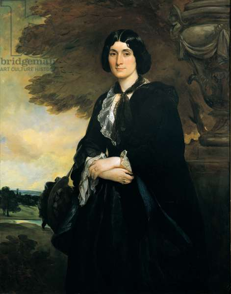 Portrait of Lady Geary née Grant (oil on canvas)