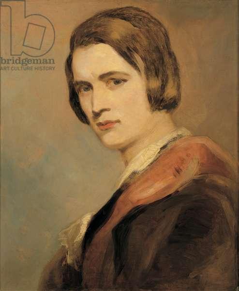 Self-Portrait, 1841 (oil on panel)