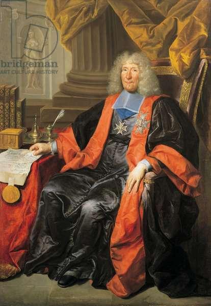 Portrait of Daniel François Voisin (1654 - 1717), 1691 (oil on canvas)