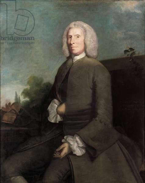 Portrait of William Plumer (1687 - 1767), 1755 (oil on canvas)
