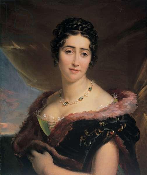 Portrait of contessa Cornelia Rossi Martinetti (1789 - 1867), 1812 (oil on canvas)