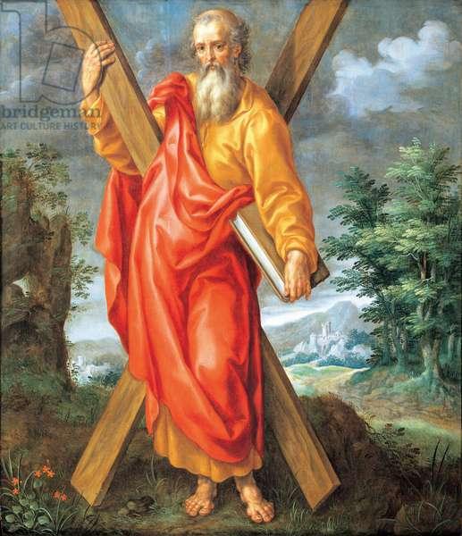 St. Andrew (oil on panel)