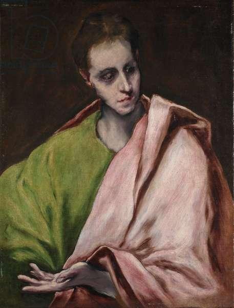 St. John the Evangelist, 1600 (oil on canvas)