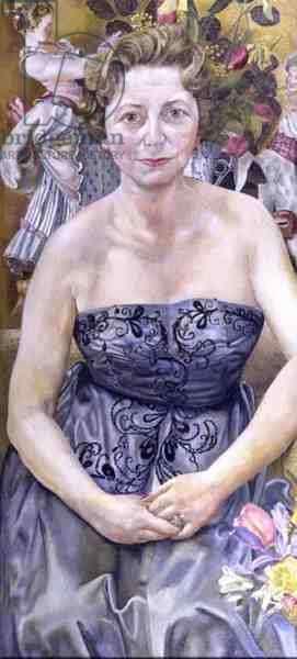 Portrait of Marjorie Metz, 1958 (oil on canvas)