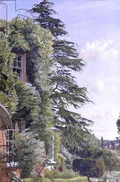 Englefield House, Cookham, 1951 (oil on canvas)