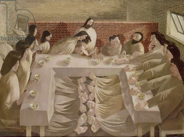 The Last Supper, 1920 (oil on canvas)