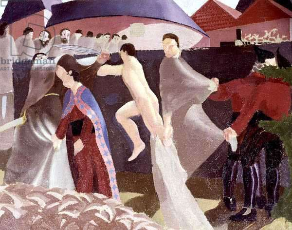 The Betrayal (First Version) 1914 (oil on canvas)