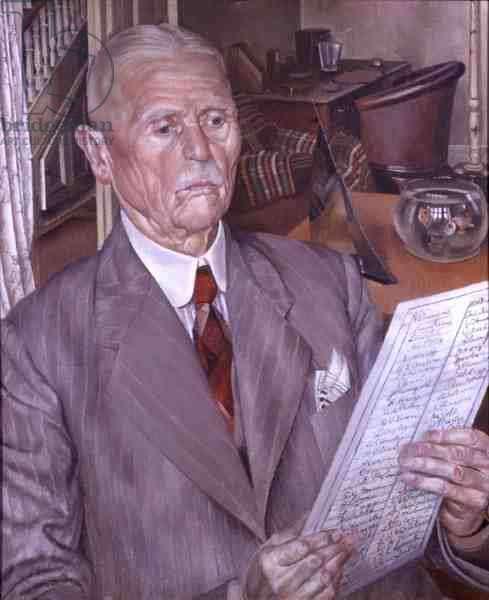 Portrait of Lars Larson, c.1942 (oil on canvas)