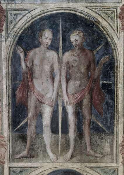 Gemini - Astrology (fresco)