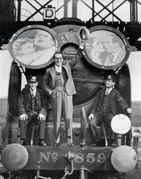 Harold Lloyd, (1893-1971), Motion Picture Comedian, October 10, 1932