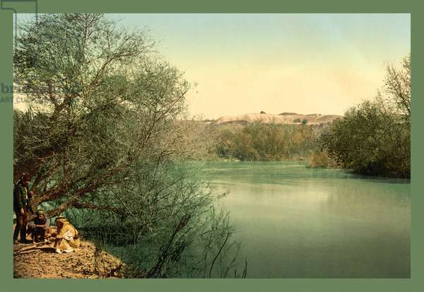 Place of Baptism on the River Jordan, Classic Photography