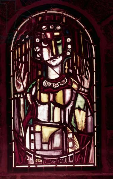 St. Cecilia (stained glass)