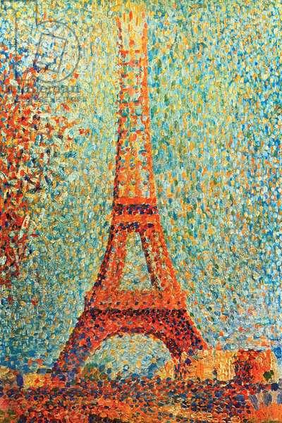 The Eiffel Tower, 1889 (oil on canvas)