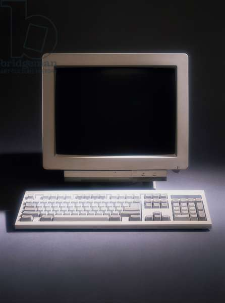 Close-up of a desktop pc