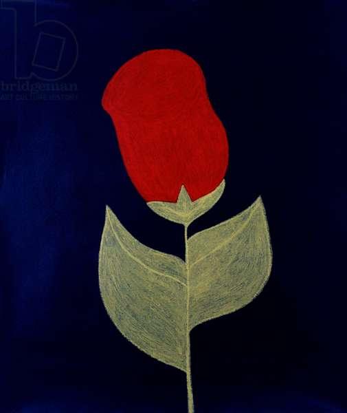 Rose 1989 Catherine Hazard (b.1954 American) Oil on canvas