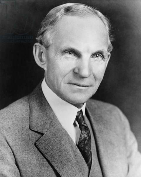 Henry Ford,(1863-1947), US Automobile Industrialist