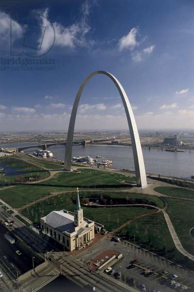 Gateway Arch, 1961-66 (photo)