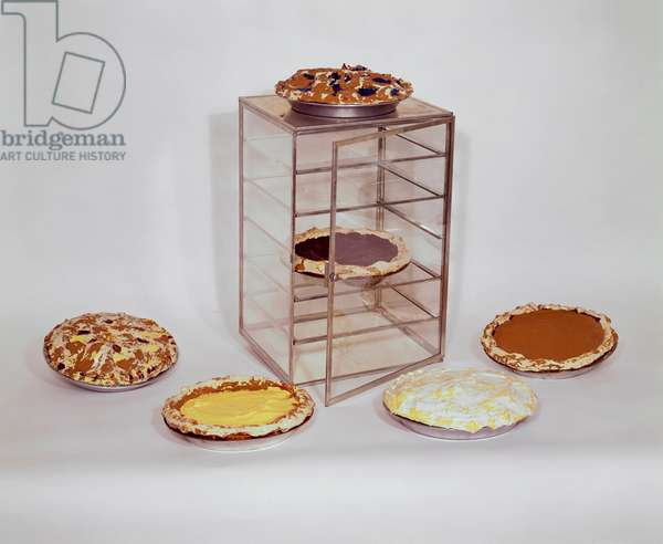 Glass Case with Pies, 1962