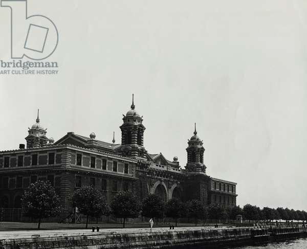 Administration Building Ellis Island New York City USA
