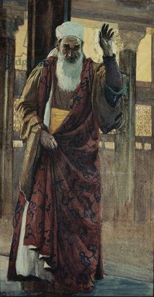 The Prophet Isaiah, 2:1, ca. 1898