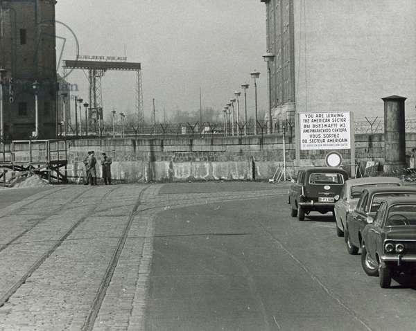 Germany, Berlin, Berlin Wall in 1960s