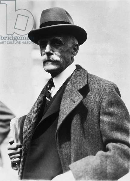 Andrew Mellon (1855-1937) (b/w photo)
