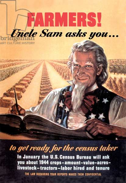 Farmers! Uncle Sam Asks You¿, Uncle Sam