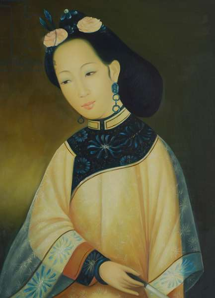 Copy of a painting of a Vietnamese Princess