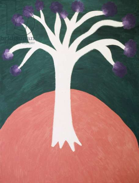 Beautiful Tree 1991 Catherine Hazard (b.1954 American) Oil on canvas