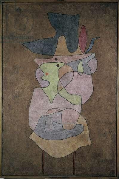Lady Demon 1935 (watercolour)