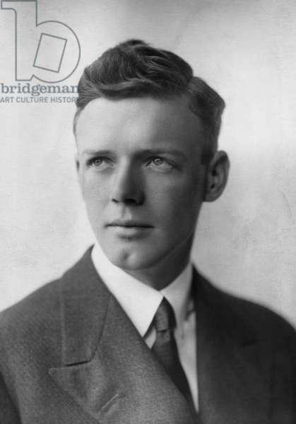 Charles A. Lindbergh, American Aviator, (1902-1974)