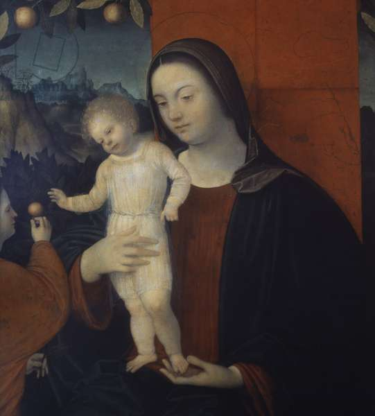 Madonna and Child with St. Catherine (panel)