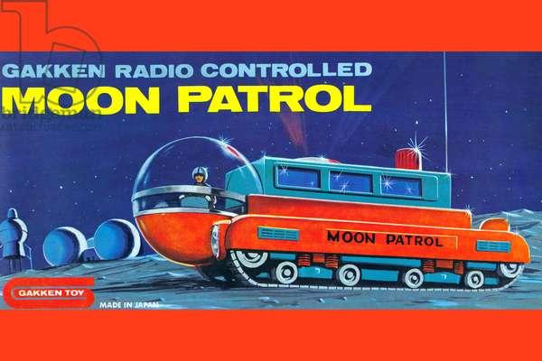 Moon Patrol, Robots, ray guns & rocket ships