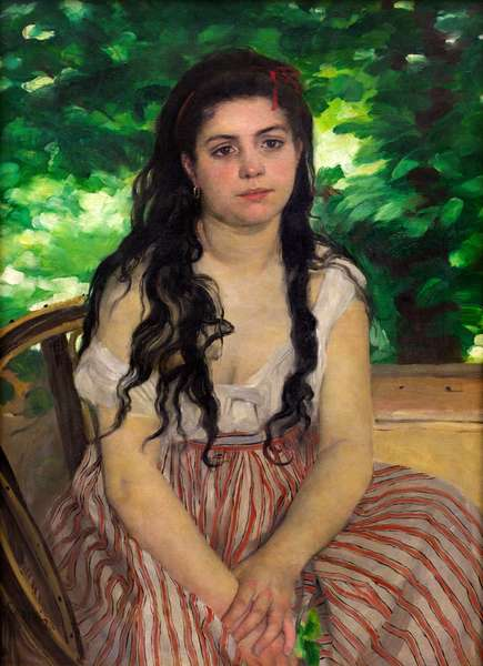 Summer, 1868 (oil on canvas)