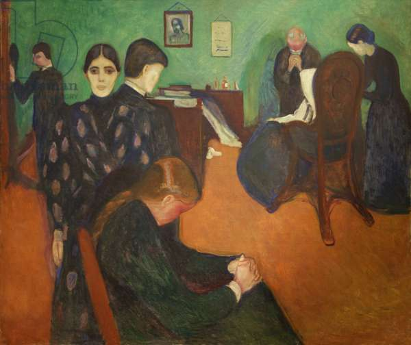 Death in the Sickroom, 1893 (oil on canvas)