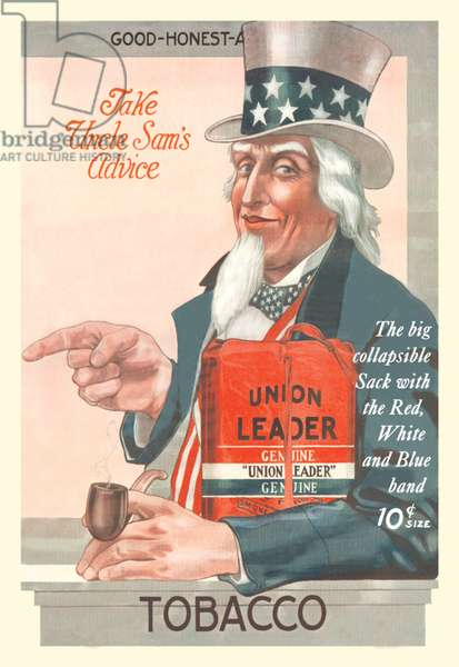 Take Uncle Sam's Advice - Union Leader Tobacco, Uncle Sam