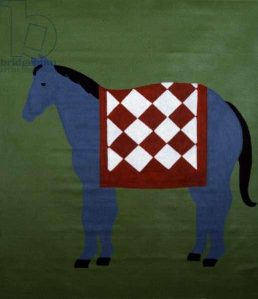 Warm Horse 1989 Catherine Hazard (b.1954 American) Oil on canvas