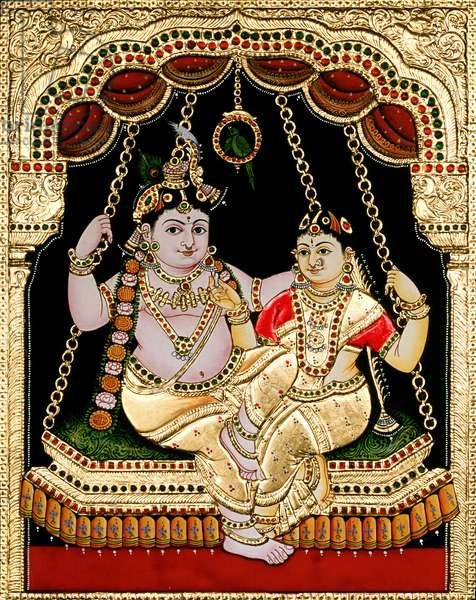 Tanjore Painting Artist Unknown