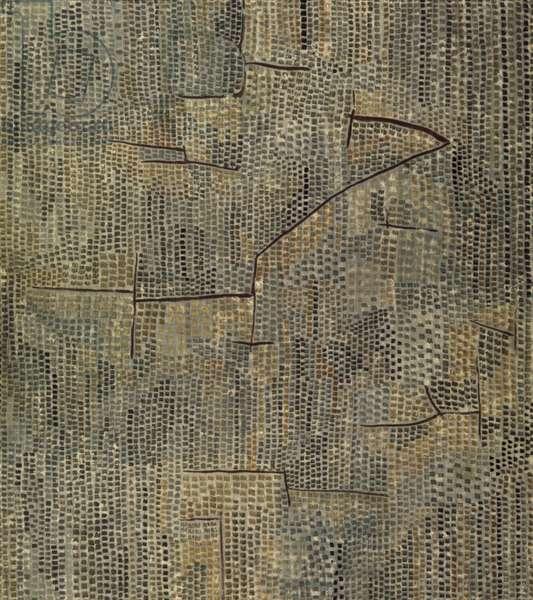 Flore Au Rocher 1940 (oil on canvas)