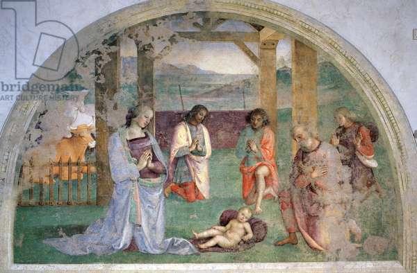 Adoration of the Shepherds (fresco)