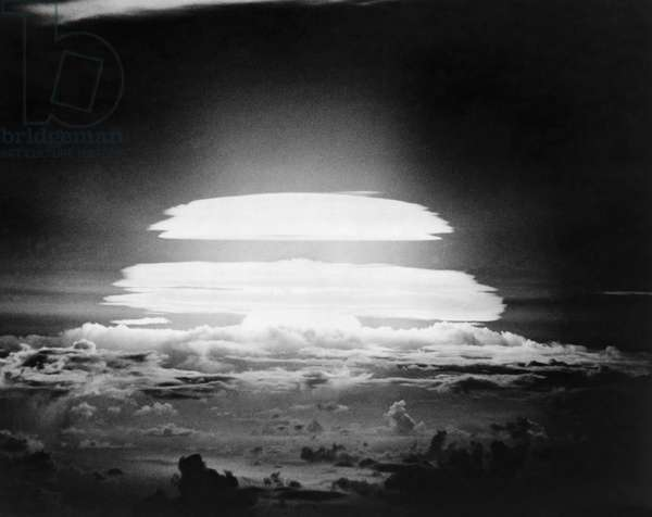 Nuclear test detonation, Bikini Atoll, Marshall Islands
