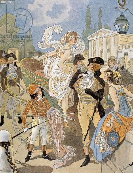 Avenue des Champs-Elysees (illustration)